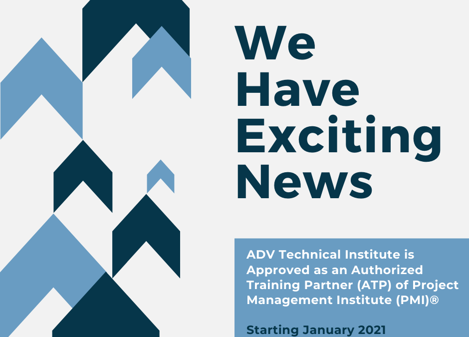 great news 940x675 1 - ADV Technical Approved as an Authorized Training Partner (ATP) of Project Management Institute (PMI)®